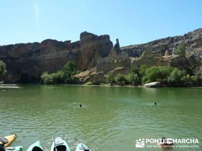 Parque Natural de las hoces del río Duratón - Monasterio de la Hoz - Ermita de San Frutos -Cantale